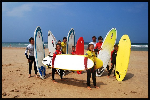 Escuela de Surf Costa Norte (Playa de San vicente)