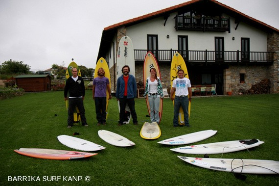 Barrika surf camp
