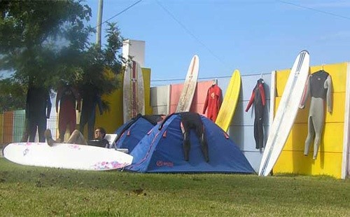 Careca Surf Camp, Campamento en Portugal