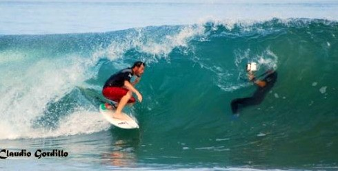 Surfing Peruvian Coast